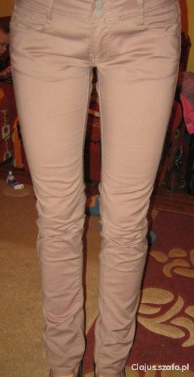Spodnie karmel M