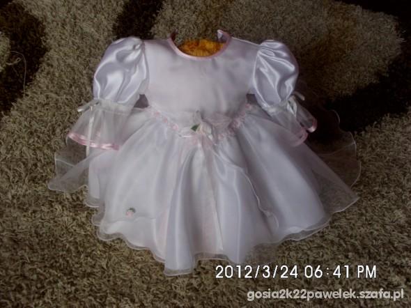 Sukienki i spódniczki śliczna sukieneczka do chrztu