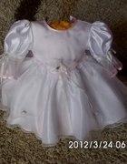 śliczna sukieneczka do chrztu...