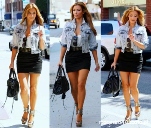 Eleganckie Kim Kardashian