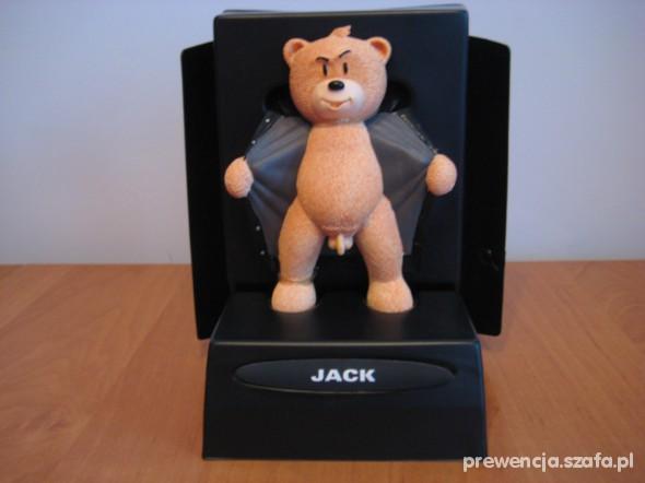 Zabawki humorystyczna figurka Jack z UK