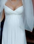 suknia ślubna typu empire mmoże być ciążowa
