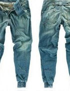 Jeansowe Baggy