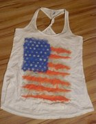Bluzga z flagą USA...