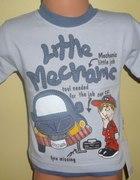 Bluzka dla małego mechanika rozmiar 110...