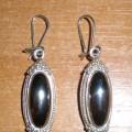 Cudeńka z hematytem srebro 925