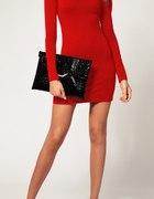Czerwona sexi sukienka tunika NOWA