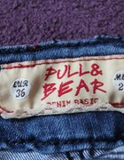 jeansowa mini PULL AND BEAR