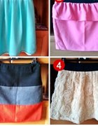 moja kolekcja spódniczek...