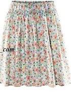 H&M Spódniczka w kwiaty na gumce...
