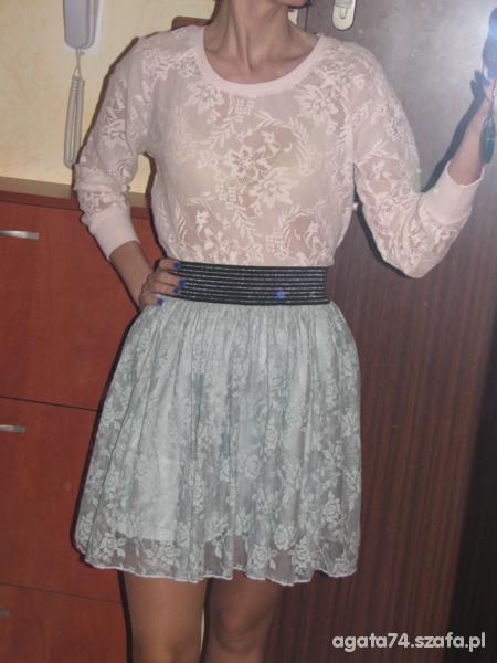 Romantyczne moje koronkowe spodnice