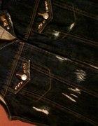 jeansowa z ćwiekami
