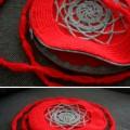 Szydełkowa czerwona