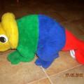 ogromna maskotka kameleon Leon 58cm