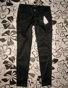 satynowe rurki czarne Jessica 42