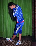 adidas spodnie niebieskie
