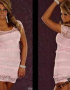 Sexy koronkowa sukienka