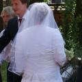 Suknia ślubna dla cieżarnych i nie tylko niedrogo