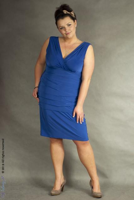 Suknia Alessandra 7 kolorów do 44 do 56