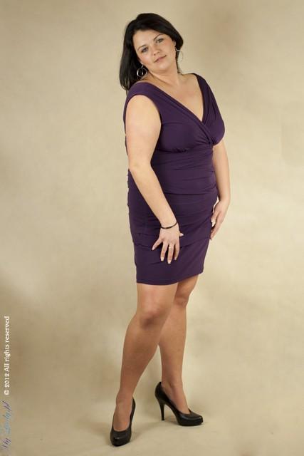 feb52ee007 Suknia Alessandra 7 kolorów do 44 do 56 w Suknie i sukienki - Szafa.pl