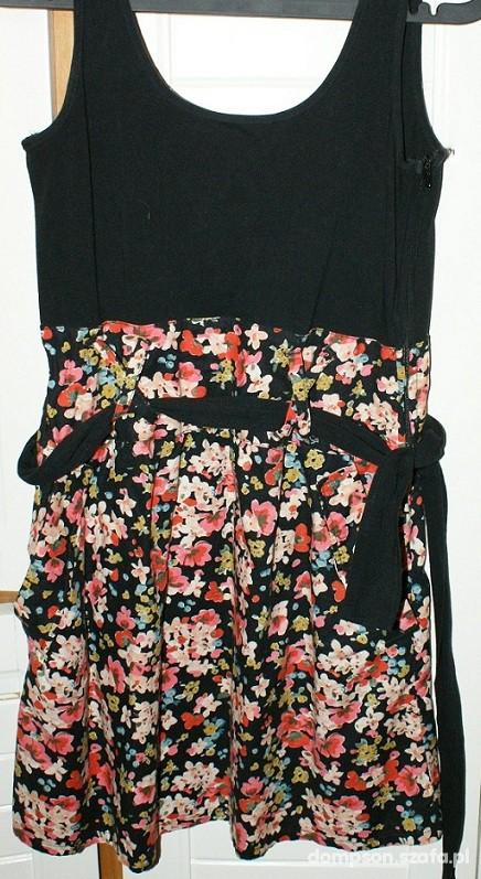 Suknie i sukienki sukienka w kwiatki