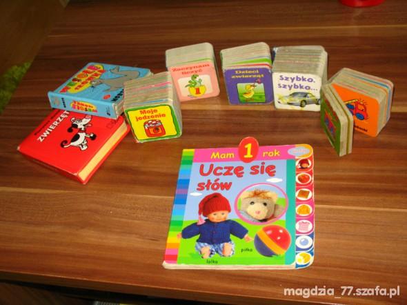 Zabawki książeczki Super zestaw 8 sztuk