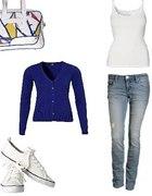 mój strój do szkoły