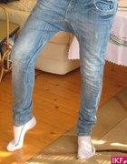 spodnie pumpy jeans...