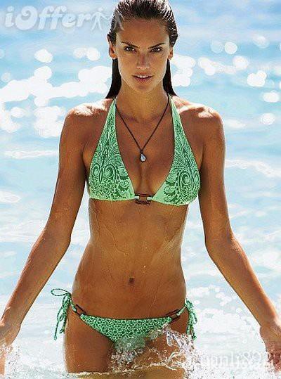 Sportowe Mietowe Bikini