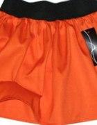 spódniczka orange rozkloszowana...