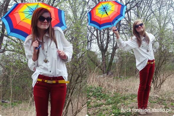 Mój styl Singing in the rain