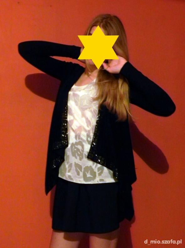 Sweterek narzutka w stylu serialowej Sereny