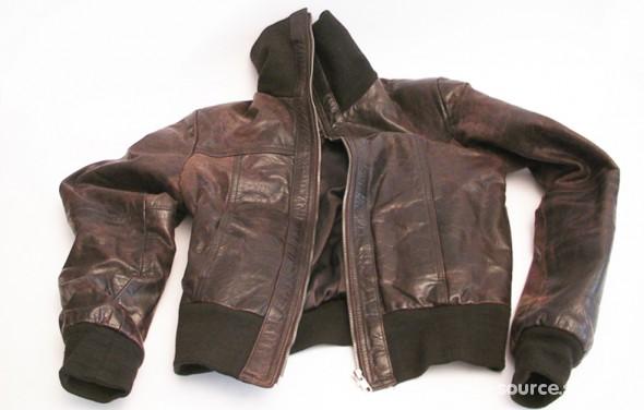 bc13e2ca68c7a kurtka skórzana typu PILOTKA skóra naturalna M w Odzież wierzchnia ...