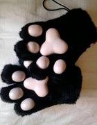 Rękawiczki kocie łapki...