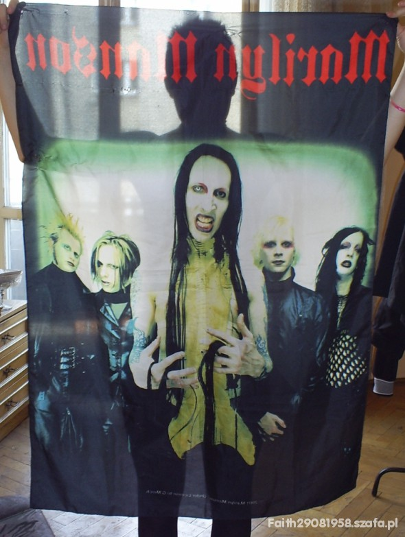 Chusty i apaszki Marilyn Manson chusta