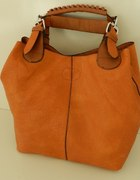 Shopper bag 2 w 1 camel