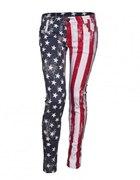 Rurki z flagą amerykańską...