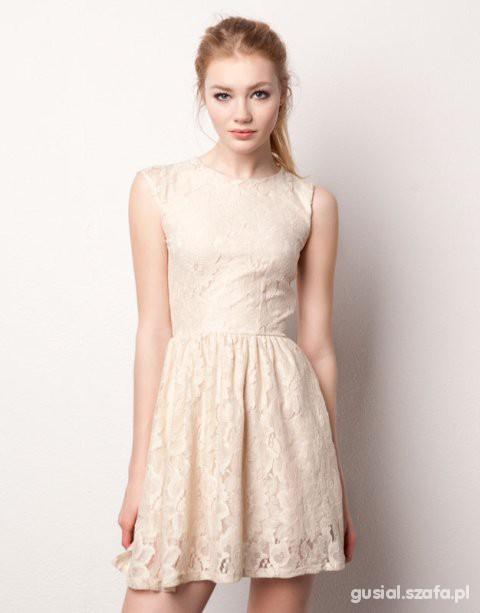 Suknie i sukienki koronkowa sukienka