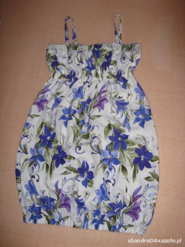 Suknie i sukienki Sukienka bombka floral