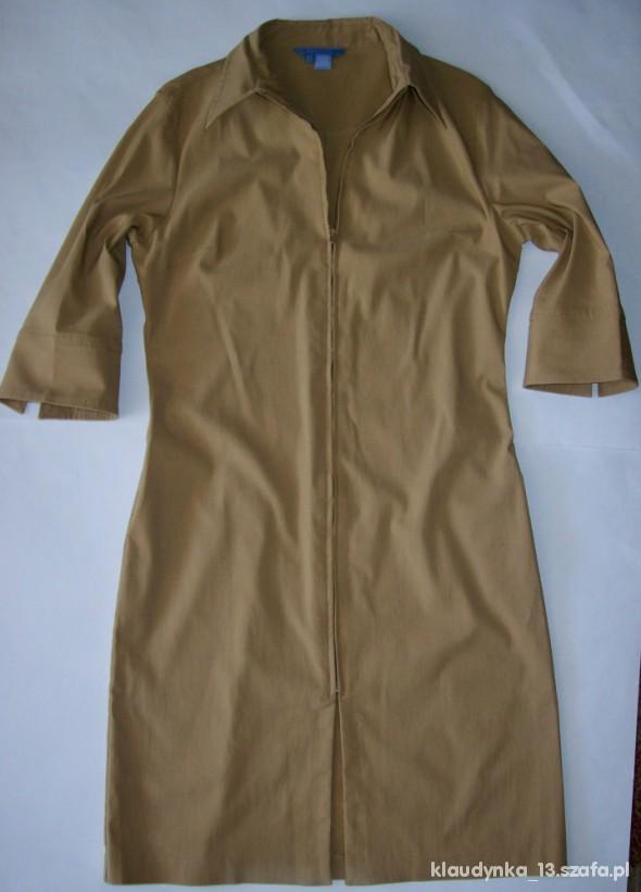 Suknie i sukienki ZARA szmizjerka roz XL jak nowa