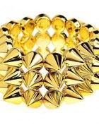 Bransoletka kolce złota