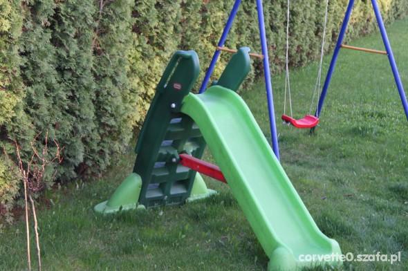 Zabawki zjezdzalnia duza ogrodowa