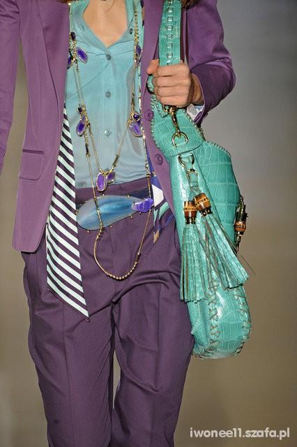Romantyczne garnitur fioletowy
