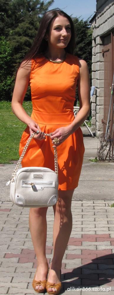 Eleganckie orange