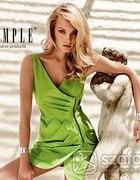 Sukienka SIMPLE zielona limonkowa...