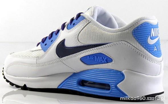 Biało błękitne Air Max