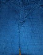 Niebieskie spodnie w kratkę H&M