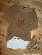 Sweter Brąz H&M rozmiar 36