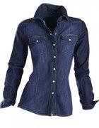 Dzinsowa koszula