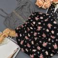 Sukienka bombka kwiaty KOLORY